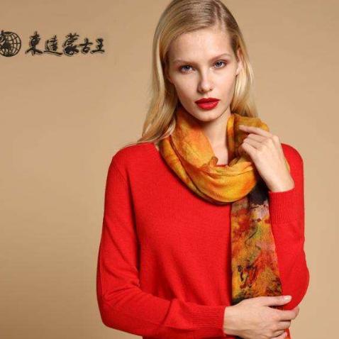 东达蒙古王红色女装