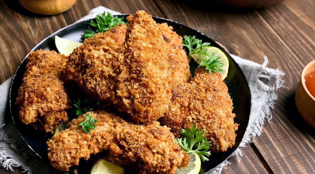 西汗脆皮鸡饭鸡块