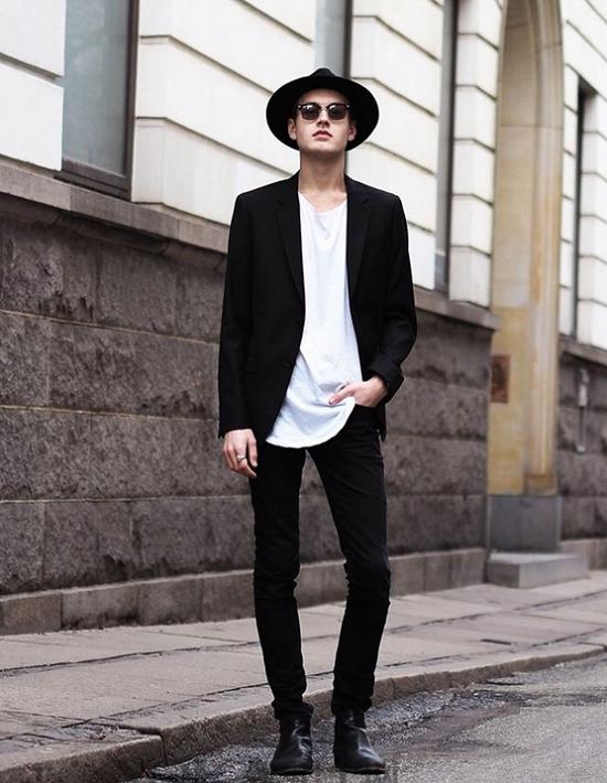 莎斯莱思男装精彩的黑色搭配,助你成为真正的时尚达人!