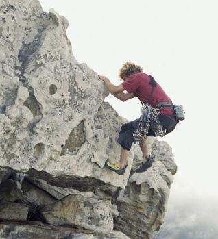 自由峰攀岩