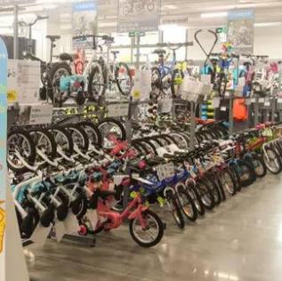 迪卡侬运动超市自行车
