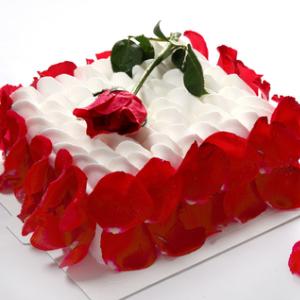 幸福西饼生日蛋糕细腻