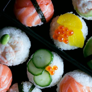 刺身寿司香酥