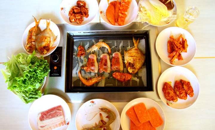韩式自助烧烤