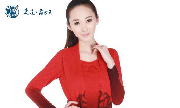 东达蒙古王女装红色