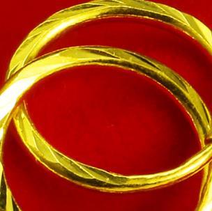得发黄金手环
