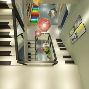 天音艺术培训学校楼梯