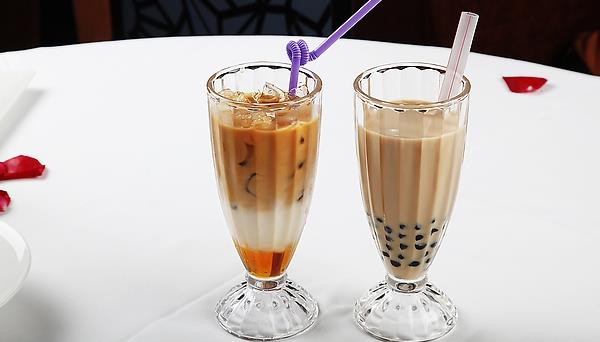 稻盛田冰镇奶茶