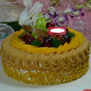 幸福西饼生日蛋糕可口