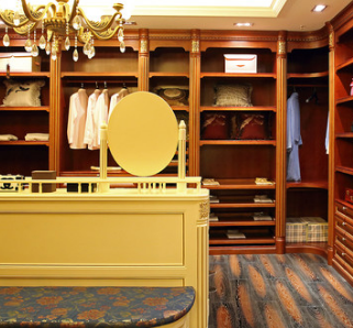 顶固智衣柜美式衣柜