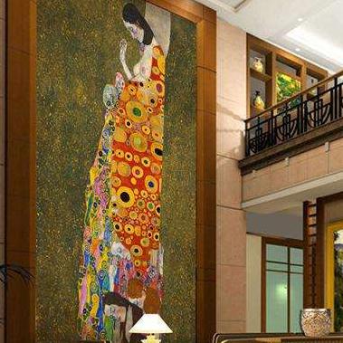 东方玛雅大厅瓷砖