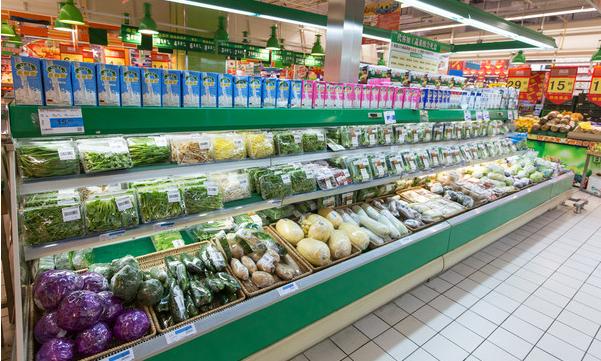 多点超市蔬菜区