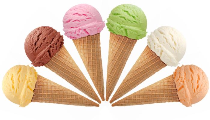 冰雪微甜冰激凌