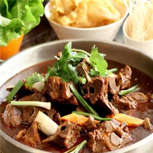 老北京涮羊肉自助火锅城羊骨