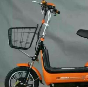 捷安特电动车橙色