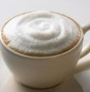 金寶白咖啡泡沫