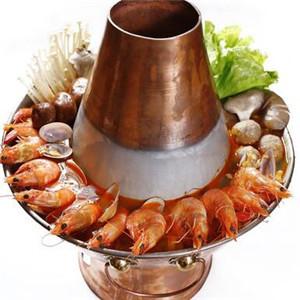 龙虾烧烤火锅大虾