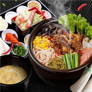 龙虾烧烤火锅米线