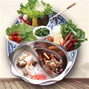 龙灵阁重庆斑鱼火锅盘子