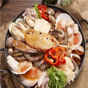 非烤勿扰自助烤肉海鲜火锅彩椒