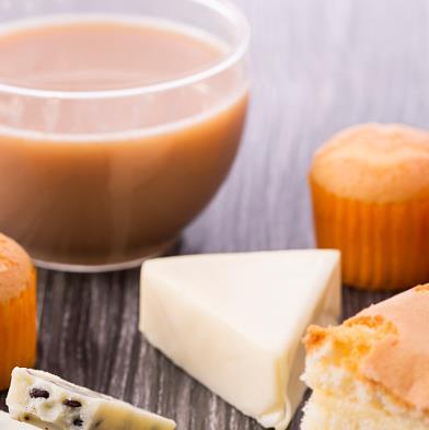 自由美奶茶店原味奶茶