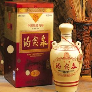 趵突泉白酒盒裝
