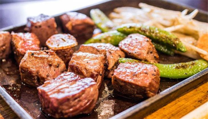 乐町日本料理火锅铁板烧牛肉