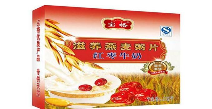 宝格红枣牛奶