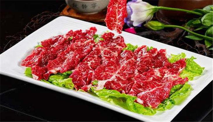凯记鲜牛肉火锅牛肉