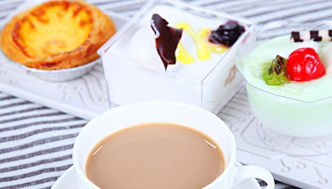 自由美奶茶店蛋挞