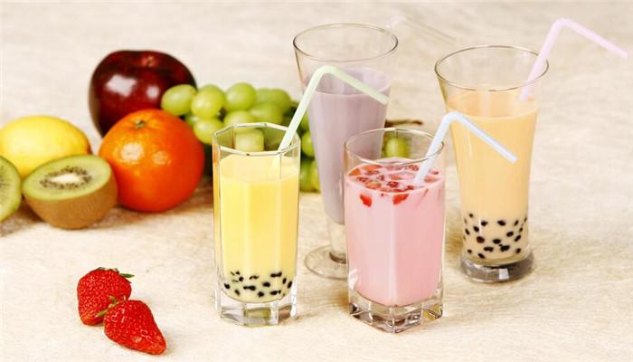 可口站樂酷珍珠奶茶水果