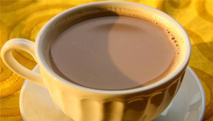 可可司奶茶白杯子