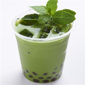 點彩奶茶店抹茶味
