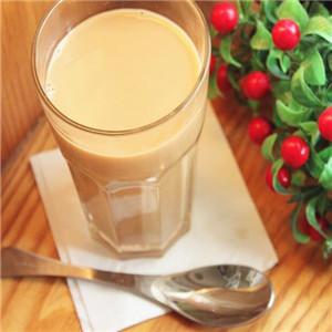開心奶茶美味