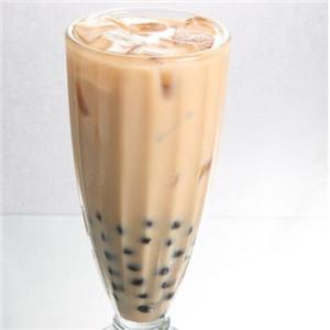 咔咔奶茶.鮮果.輕食黑色