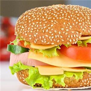 湘基堡炸鸡汉堡番茄