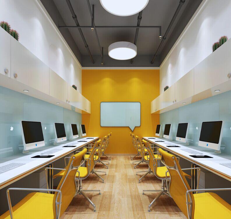乐圃国际教育装修设计