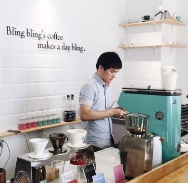 BlingBling不离咖啡加盟