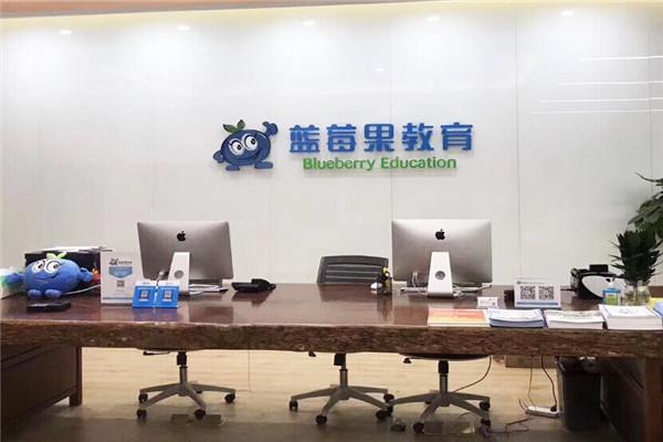 蓝莓果教育品牌展示