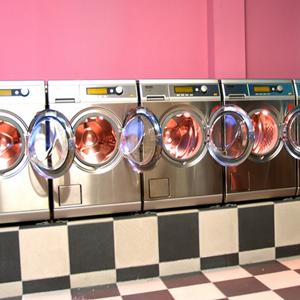 梦辉干洗店洗衣机