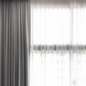 城市领秀窗帘灰色