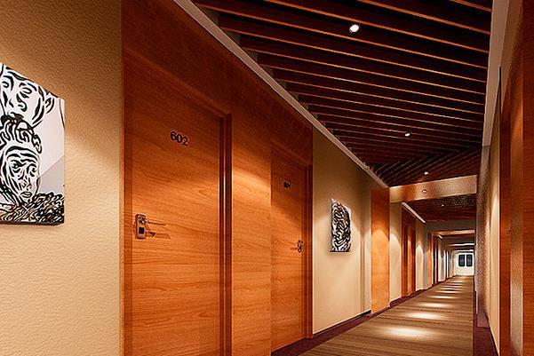 莫林风尚连锁酒店走廊