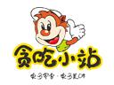 贪吃小站零食店品牌logo