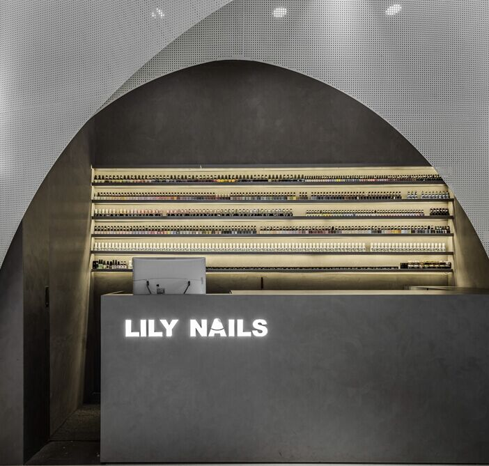 lily nails店面