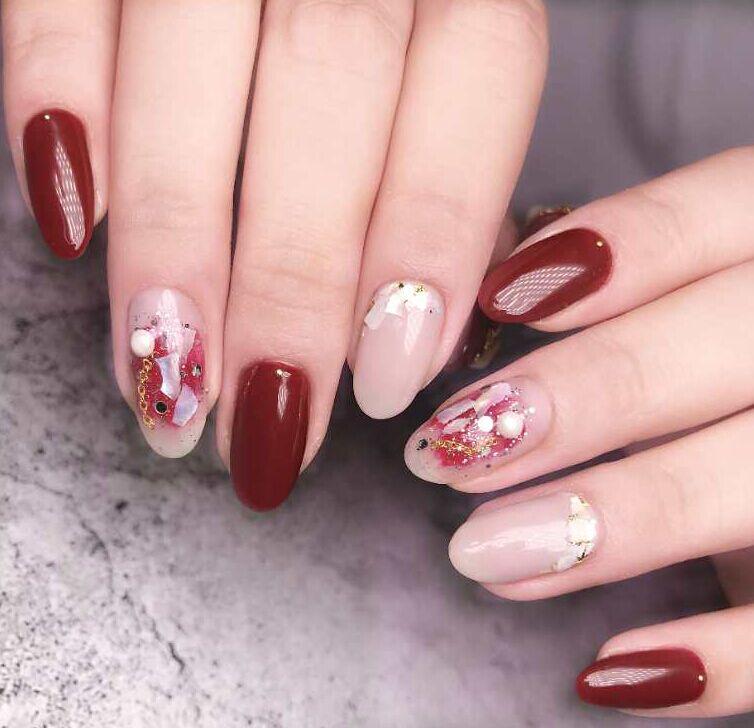 lily nails美甲效果