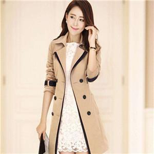 韩式女装风衣