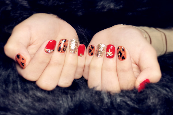 lily nails美甲好看