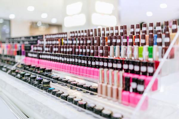 lily nails产品展架