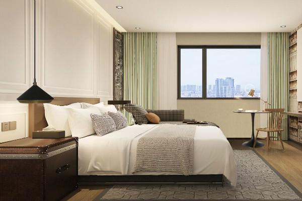 格美酒店客房温馨、舒适