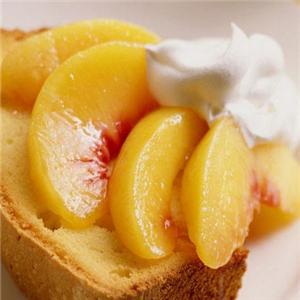 芒一q甜品黃桃甜品
